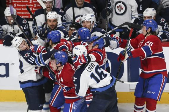 L'indiscipline a fait mal aux Jets. (Photo Robert Skinner, La Presse)