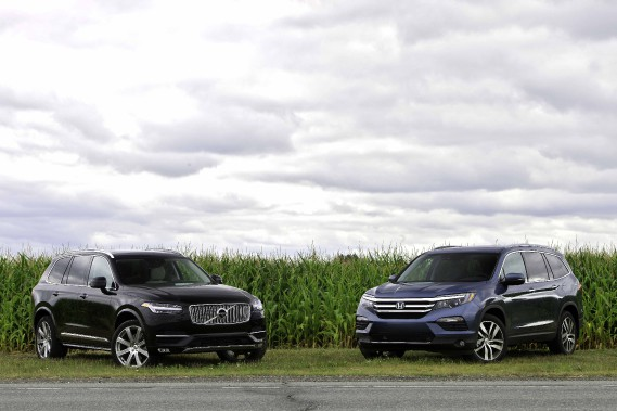 Honda Pilot c. Volvo XC90: la question à 10 000$, enfin presque...