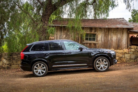 Volvo XC90 (PHOTO FOURNIE PAR VOLVO)