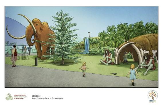Le mammouth, d'une taille de 6 mètres (20 pieds), sera la plus grosse oeuvre présentée aux Floralies internationales d'Antalya. (Courtoisie)