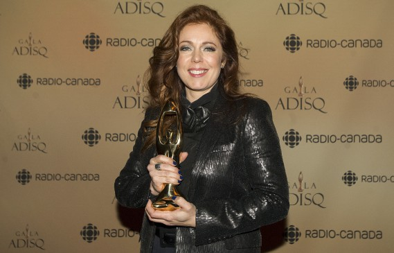 Isabelle Boulay (La Presse Canadienne)