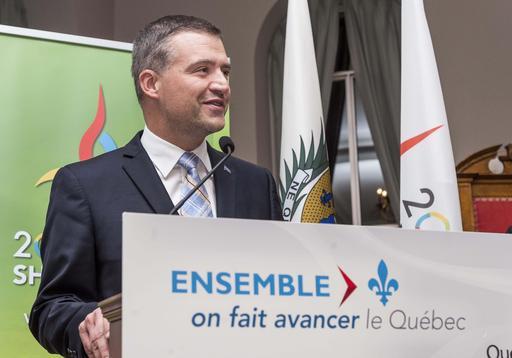 Le député Luc Fortin ()