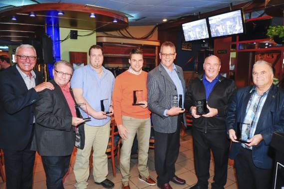 Les fournisseurs ont été honorés (Photo Le Quotidien, Gimmy Desbiens)