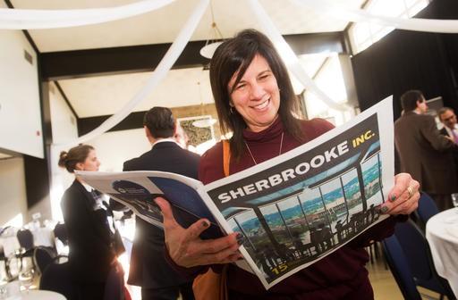 Guylaine Fisette conseillère en communications Cégep de Sherbrooke. ()