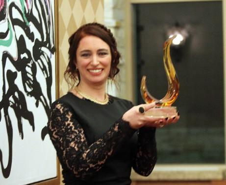 Isabelle Côté a été nommée jeune entrepreneure de l'année. (Étienne Ranger, LeDroit)