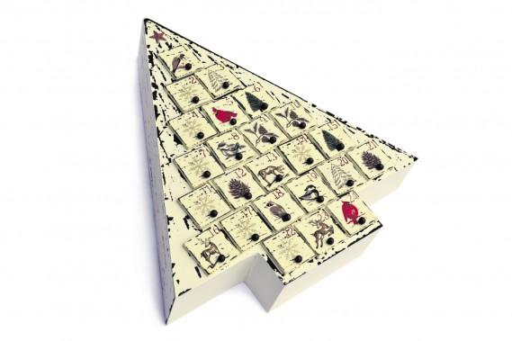 Calendrier de l'Avent en forme de sapin, 49,99 $ chez Hamel (Le Soleil, Patrice Laroche)