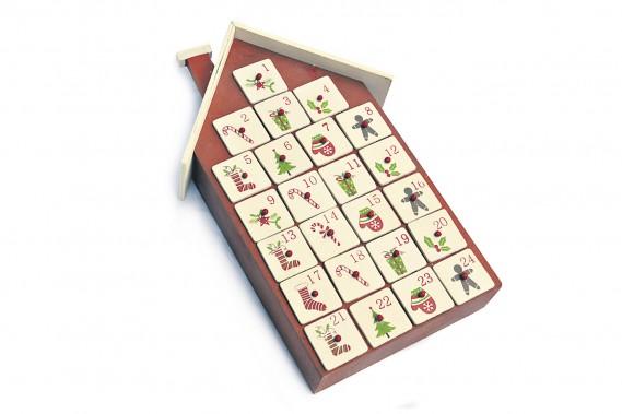 Calendrier de l'Avent en forme de maison, 49,99 $ chez Hamel (Le Soleil, Patrice Laroche)