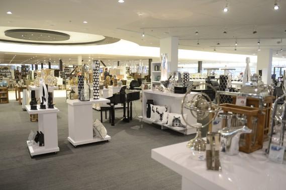 Le département des meubles a été agrandi de plus de 10 000 pieds carrés notamment pour accueillir la nouvelle section dédiée aux accessoires. (Jeannot Lévesque)