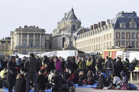 Près du château de Versailles (France) (AFP, Dominique Faget)