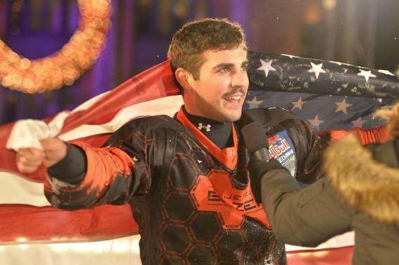 Le gagnant chez les hommes: l'Américain Cameron Naasz (Le Soleil, Andréanne Lemire)