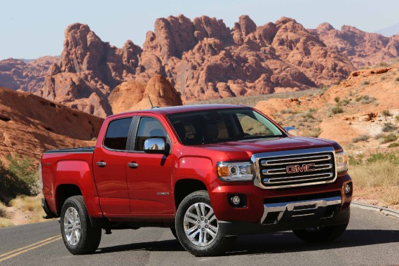 GMC Canyon (PHOTO FOURNIE PAR GMC)