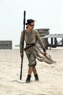 Daisy Ridley interprète Rey. (Lucasfilms, Disney)