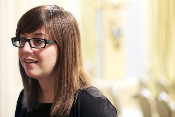 L'acitiviste pour le don d'organes, Hélène Campbell (Patrick Woodbury, LeDroit)
