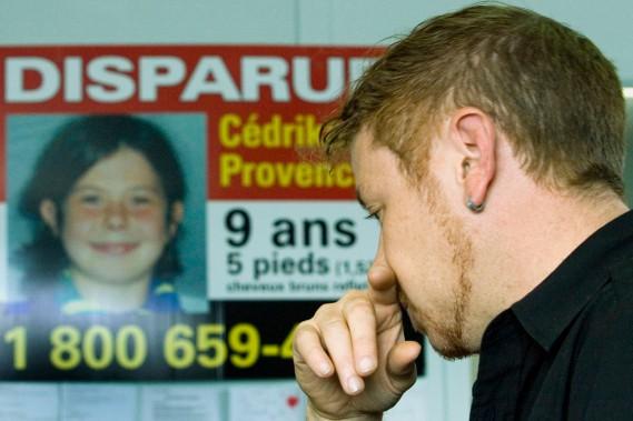 Le père de Cédrika, Martin Provencher, en 2007. Cédrika Provencher était portée disparue depuis 2007. La jeune fille était alors âgée de 9 ans. (Photothèque Le Soleil)