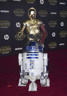 Les robots R2-D2 et C-3PO (AFP, Valérie Macon)