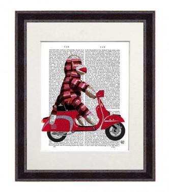 Affiche de Fab Funky, 33,95 $ sur Etsy (Tirée du site Web d'Etsy)