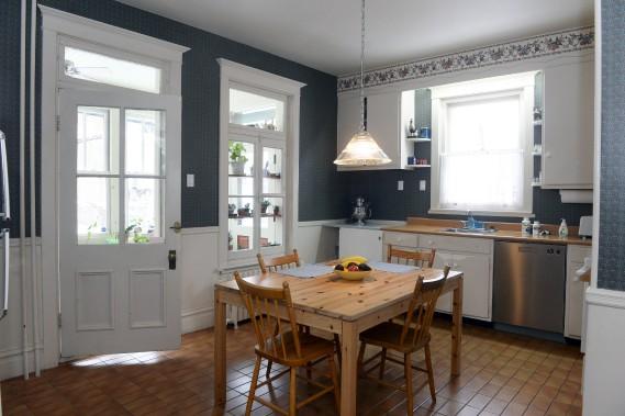Prochain travaux prévus? La rénovation complète de la cuisine, qui avait été refaite dans les années 50. (Le Soleil, Jean-Marie Villeneuve)