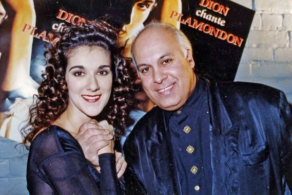 Lancement de l'album Dion chante Plamondon en 1993. (PHOTO ROBERT MAILLOUX, ARCHIVES LA PRESSE)