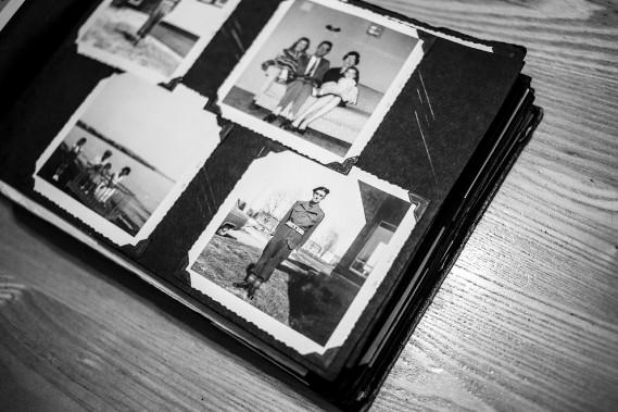 <em>Lorenzo Cyr no. 03</em>, photo de Guillaume D. Cyr, <em>Gaspésie Human Less 3e partie</em>, chez Michel Guimont en février (Photo fournie par la galerie Michel Guimont)