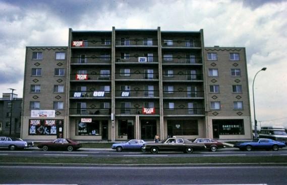 Le référendum de 1980 (Archives Le Soleil)