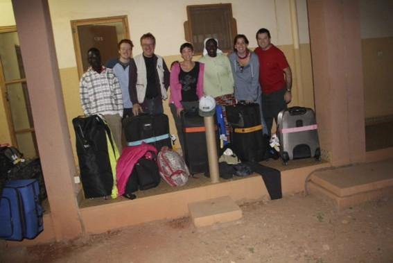 Charles-ÉlieCarrier, Yves Carrier, Gladys Chamberland, Maude Carrier et Louis Chabot, victimes du raid djihadiste qui a eu lieu a Ouagadougou au Burkina Faso le 16 janvier 2016. (Photo fournie par la famille)