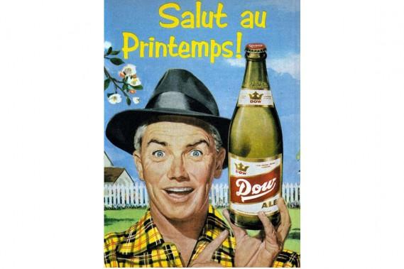 La brasserie Dunn est créée à La Prairie en 1890 par Thomas Dunn. Elle change de nom pour Dow et déménage à Montréal en 1809. (PHOTO TIRÉE DE FLICKR)
