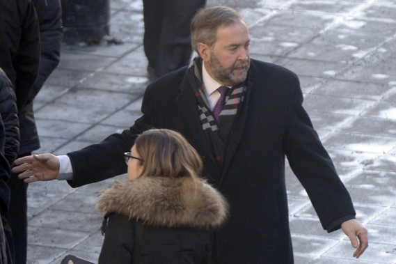 Thomas Mulcair (PHOTO BERNARD BRAULT, LA PRESSE)