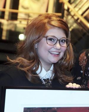 L'humoriste franco-ontarienne, Katherine Levac, a été le choix du jury dans la catégorie<em>Culture</em>. (Etienne Ranger, LeDroit)