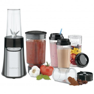 Le système de mélangeur-hachoir compact et portatif de Cuisinart fonctionne à effleurement et à mains libres. (Cuisinart)