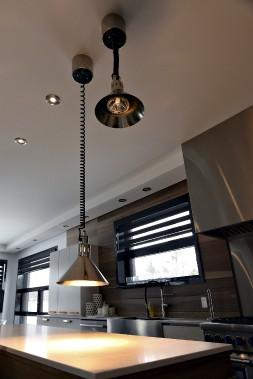 Ces lampeschauffantessont des objetshabituellementréservés aux restaurants. (Le Soleil, Patrice Laroche)