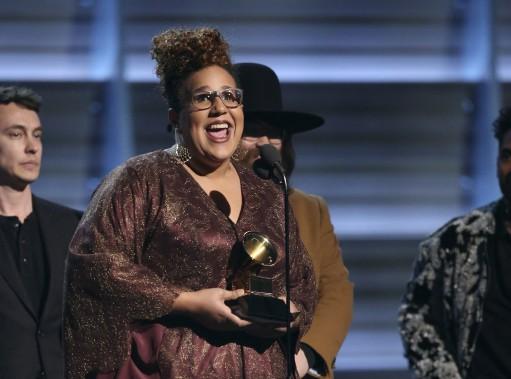 Alabama Shakes repart avec le prix du Meilleur album de musique alternative. (AP, Matt Sayles)