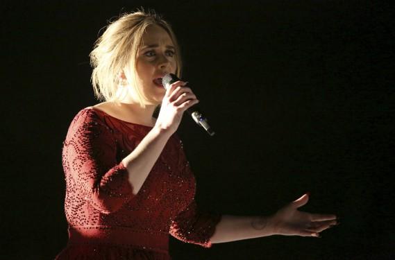 Adele (AP, Matt Sayles)