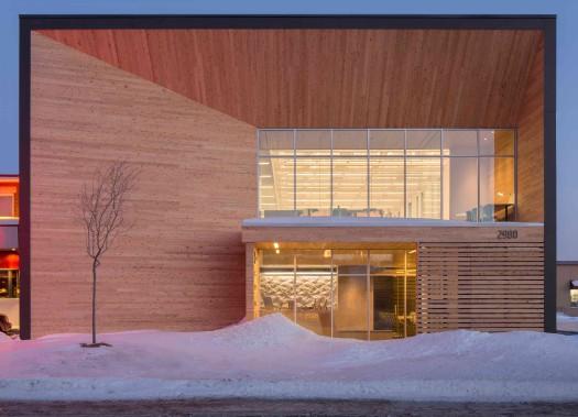 Dans la catégorie Développement durable, STGM Architectes + IDEA ont raflé les honneurs pour le siège social de STGM Architectes. (Stéphane Groleau)