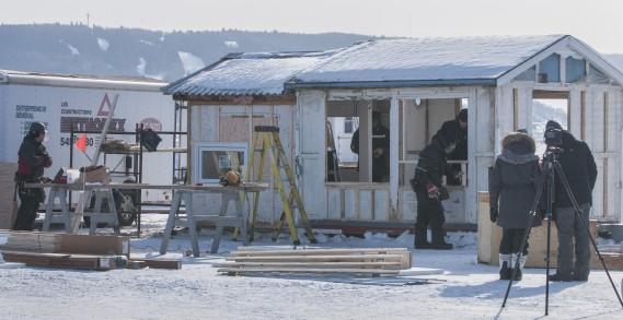 <span><span><span>La rénovation a été réalisée sur la banquise, à des températures glaciales.</span></span></span> (Michel Tremblay)