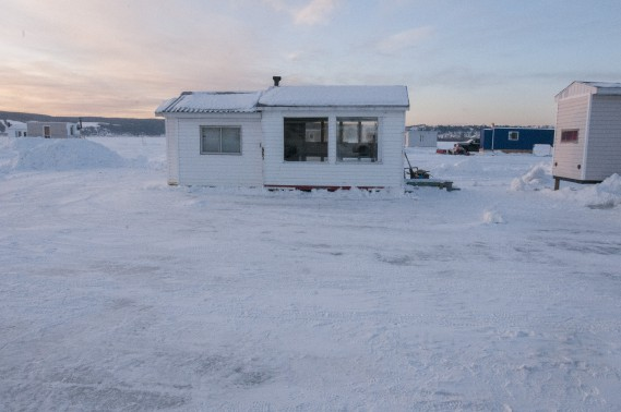 La cabane avant les travaux. (Michel Tremblay)