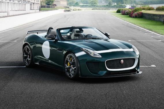 Jaguar F-Type Project 7 (Photo fournie par Jaguar)