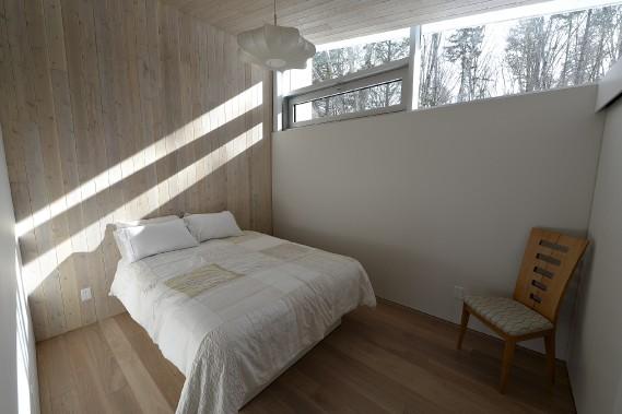 L'architecte est très sensible aux tableaux que la nature peint sur les murs. (Le Soleil, Patrice Laroche)
