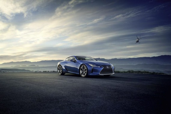 Lexus présentera une LC hybrideau salon de Genève