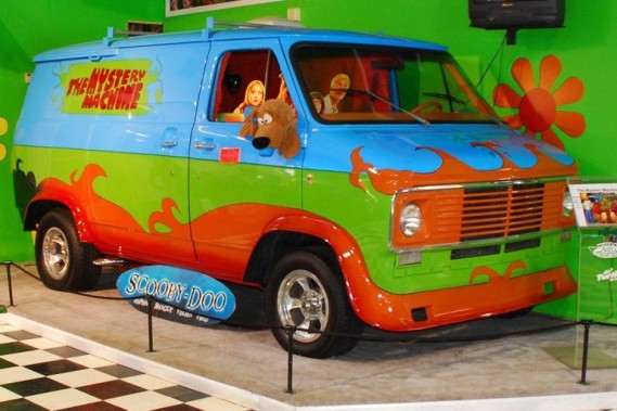 La <em>Mystery Machine</em> de Scooby Doo ()