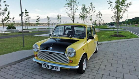 La Mini Austin de M.Bean ()
