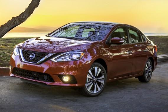 Nissan Sentra 2016- primeur québécoise (fournie par Nissan)