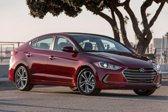 Hyundai Elantra 2017 (fournie par Hyundai)