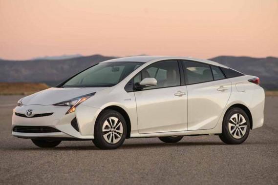 Toyota Prius 2016 (fournie par Toyota)
