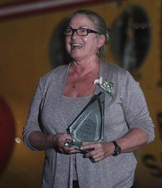 Dorine Drolet (pour le Muséoparc Vanier, récipiendaire du Laurier de l'organisme de l'année) (Etienne Ranger, LeDroit)