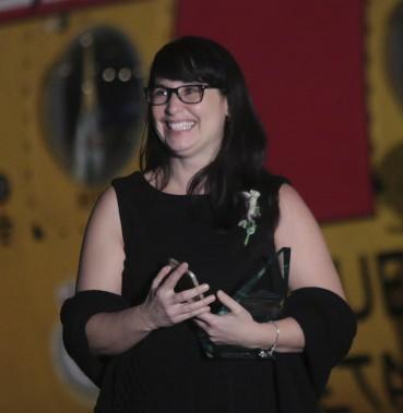 Chantal Larivière, récipiendaire du Laurier de l'intervenante en éducation de l'année (Etienne Ranger, LeDroit)