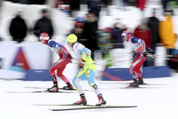 La première étape du Ski Tour Canada a eu lieu mardi au parc Jacques-Cartier. (Patrick Woodbury, LeDroit)