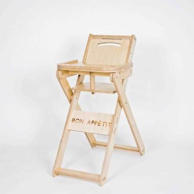 La Chaise-hôte, en contreplaqué de merisier russe, une conception de Jonathan Simard ()