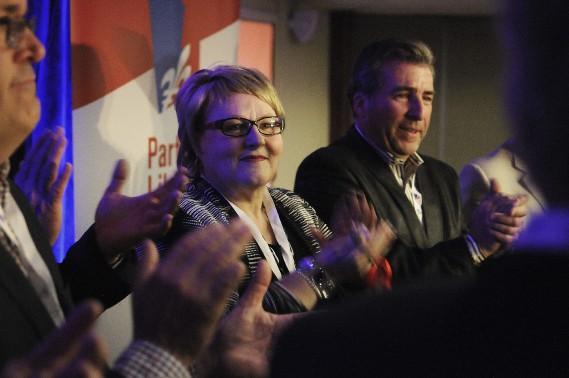 Francyne T. Gobeil portera les couleurs des libéraux dans la circonscription de Chicoutimi lors des élections partielles. (Photo Le Quotidien, Mariane L. St-Gelais)