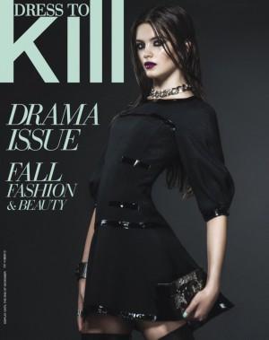 L'ensemble portée par Emma Génier pour la couverture du magazine <i>Dress To Kill</i>d'octobre 2013 constitue l'un de ses looks préférés. ()
