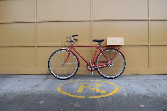 Caisse à vélo V2. (Caisserie Mc Neil)